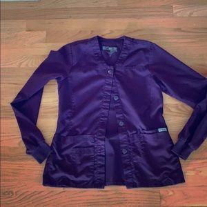Greys Anatomy Scrub Jacket XS